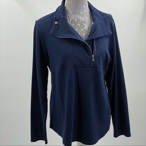 Chaps | Women's 1/2 Zip Pullover Sweatshirt, XL